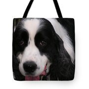 #940 D1049 Farmer Browns Springer Spaniel Tote Bag