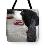 #940 D1060 Farmer Browns Springer Spaniel Tote Bag