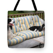 #940 D1087 Farmer Browns Separate But Always Together Tote Bag