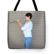 Jazz Musician. Tote Bag