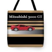99 Mitsubishi 3000 Gt Tote Bag