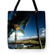 9th Hole Mona Kea Tote Bag