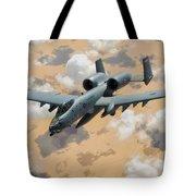 A-10 Thunderbolt Warthog Tote Bag