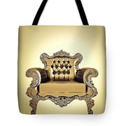 A A G - Antiquearmchairgold Tote Bag