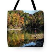 A Autumn Walk Tote Bag