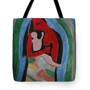 A Baby's View Of Mother Tote Bag