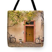 A Back Lane In Speyer Tote Bag