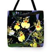 A Ballet Of Tiny Orchids Tote Bag