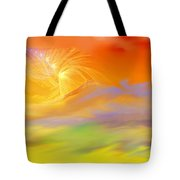 A Band Of Angels Coming After Me Tote Bag by David Lane