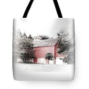 A Barn In The City Tote Bag