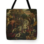 A Battle Tote Bag