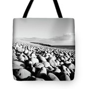 A Beach Of Stones Tote Bag