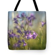 A Beam Of Summer Tote Bag