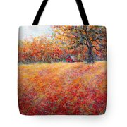 A Beautiful Autumn Day Tote Bag