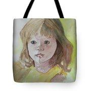 A Beautiful Child Tote Bag