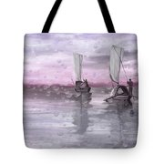 A Beautiful Morning For Fishing Tote Bag