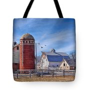 A Beautiful Quilt Barn Tote Bag