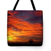 A Beautiful Valentines Sunrise Image Photo Tote Bag