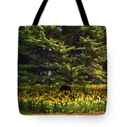 A Bed Of Narcissus Tote Bag