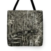 A Bend In The Creek Tote Bag