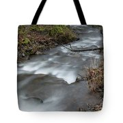 A Bend In The Flow Tote Bag