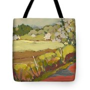 A Bend In The Road Tote Bag by Jennifer Lommers