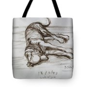 A Big Puppy Tote Bag