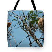 A Bird In 3d Tote Bag