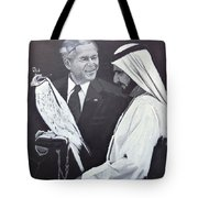 A Bird In The Hand Is Worth Two In The Bush Tote Bag