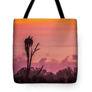 A Birdie Morning Tote Bag