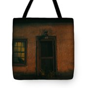 A Black Cat's Night Tote Bag