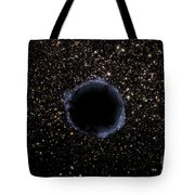 A Black Hole In A Globular Cluster Tote Bag
