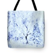 A Blanket Of Snow Tote Bag