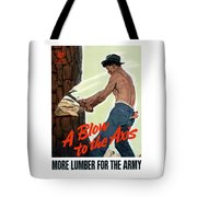 A Blow To The Axis - Ww2 Tote Bag