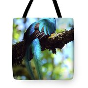A Blue Stand Out Tote Bag