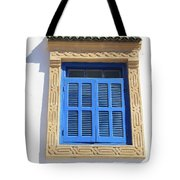 A Blue Window In Morocco Tote Bag