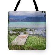 A Boardwalk To Bear Lake Tote Bag