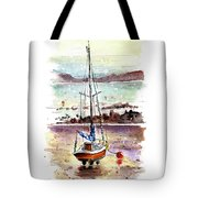 A Boat On Anglesey 01 Tote Bag