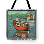 A Boaters Life Poster Tote Bag