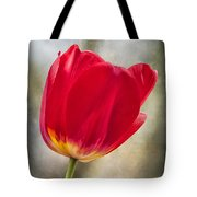 A Bold Red Embrace Tote Bag