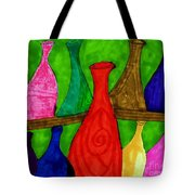 A Bottle Collection Tote Bag