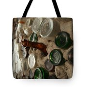 A Bottle In The Wall Tote Bag