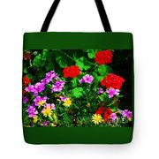 A Bouquet From Bermuda Tote Bag