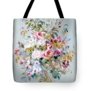 A Bouquet Of Roses Tote Bag
