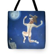 A Bout Of Lunacy Tote Bag