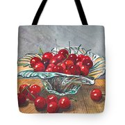 A Bowl Full Of Cherries Tote Bag