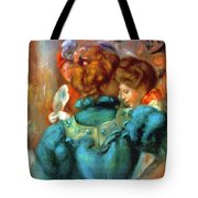 A Box In The Theater Des Varietes 1898 Tote Bag