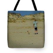 A Boy And His Pug Tote Bag