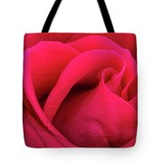 A Bright Pink Rose Close-up Tote Bag