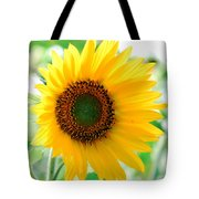 A Bright Yellow Sunflower Tote Bag